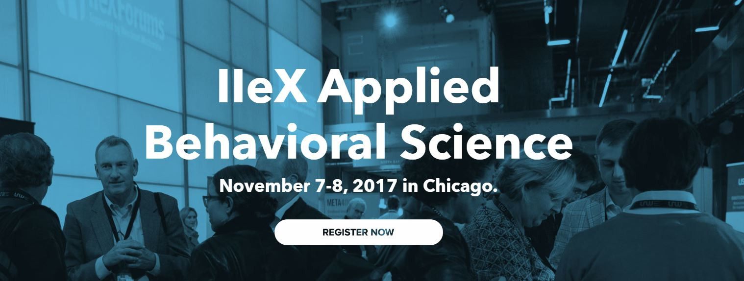 IIEX Applied Behavioral Science Conference